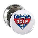 Vote Elizabeth Dole 2008 Political Button