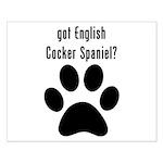 got English Cocker Spaniel? Posters