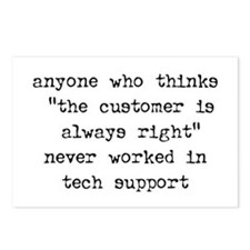TECH SUPPORT - Postcards (Package of 8)