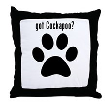 got Cockapoo? Throw Pillow