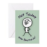 Funny encouragement Greeting Cards (10 Pack)