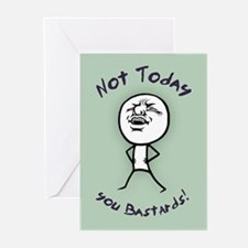 Not Today Greeting Cards (Pk of 10)