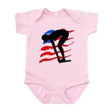 USA SWIMMER Infant Bodysuit