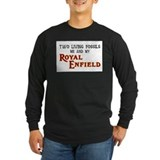 Royal enfield Long Sleeve T-shirts (Dark)