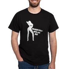 Straight Edge Girls Are Hot T-Shirt