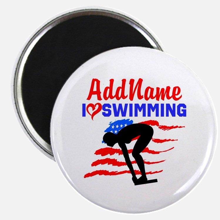 "SWIMMER GIRL 2.25"" Magnet (100 pack)"