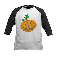 Halloween Carved Pumpkin Baseball Jersey