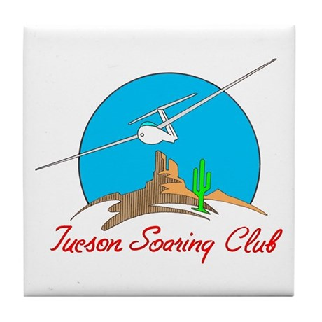TUCSON SOARING CLUB II Tile Coaster