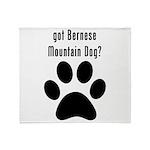 got Bernese Mountain Dog? Throw Blanket