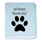 got Bernese Mountain Dog? baby blanket
