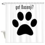 got Basenji? Shower Curtain