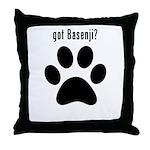 got Basenji? Throw Pillow