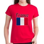 France Women's Dark T-Shirt