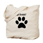 got Airedale? Tote Bag