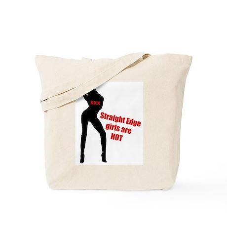 Hot Edge Girl Tote Bag