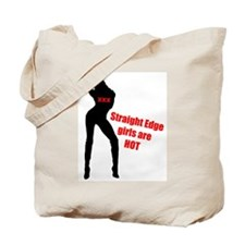 Hot Edge Girl Tote Bag