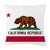 California republic Woven Pillows