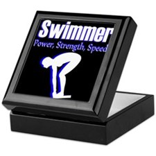 AMAZING SWIMMER Keepsake Box