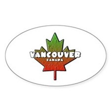 Vancouver Oval Bumper Stickers