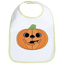 Halloween Carved Pumpkin Bib