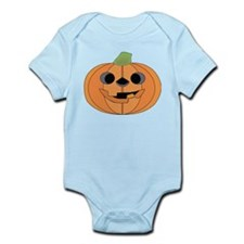 Halloween Carved Pumpkin Body Suit