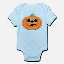 Halloween Carved Pumpkin Body Suit