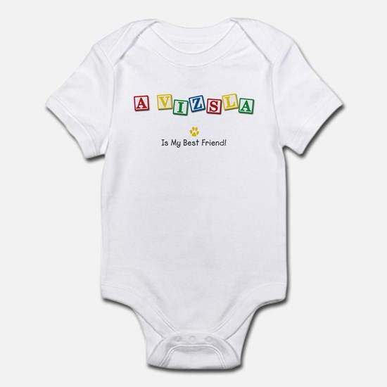 Vizsla Infant Bodysuit