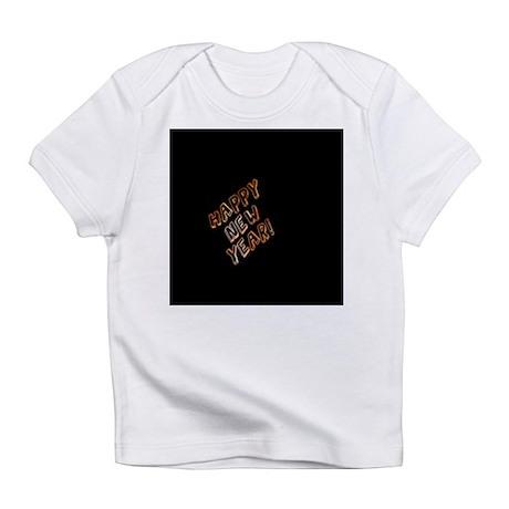 happy new year black Infant T-Shirt