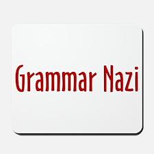 Grammar Nazi Mousepad