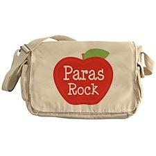 Paraeducator Paras Rock apple Messenger Bag