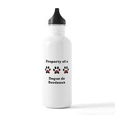 Property Of A Dogue de Bordeaux Water Bottle