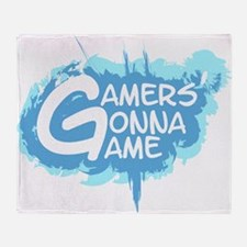 Cute Gamer Throw Blanket