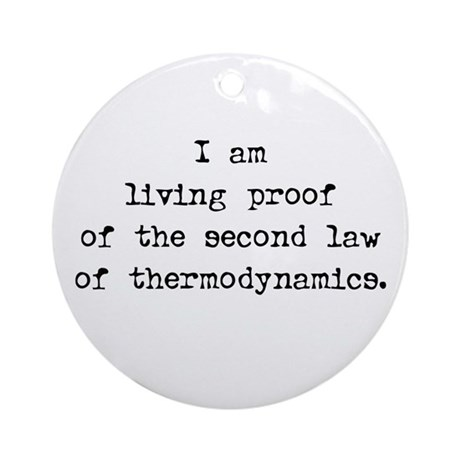 LIVING PROOF - Ornament (Round)