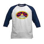 Tibet Kids Baseball Jersey