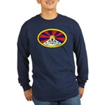 Tibet Long Sleeve Dark T-Shirt