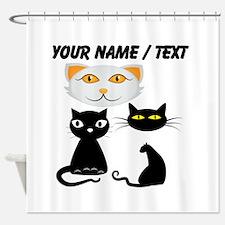 Custom Cats Shower Curtain