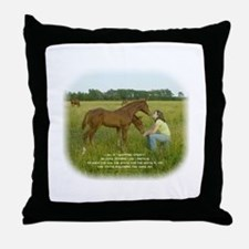Swapping Spirits Throw Pillow