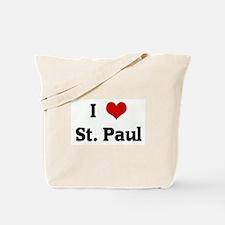 I Love St. Paul Tote Bag