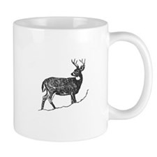 White Tailed Deer Trophy Buck Mugs