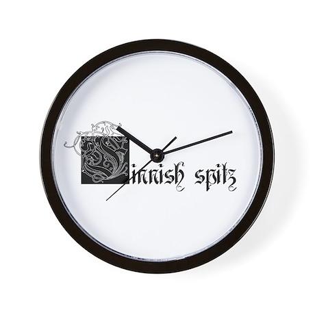 [F]innish Spitz Wall Clock