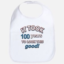 It took 100 years to look this good Bib