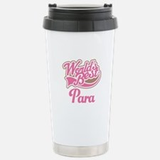 Worlds Best Para Travel Mug