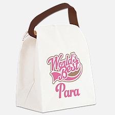 Worlds Best Para Canvas Lunch Bag