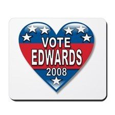 Vote John Edwards 2008 Political Mousepad