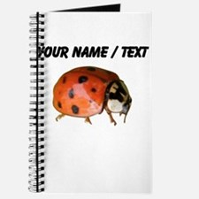 Custom Ladybug Closeup Journal