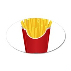 French Fries Wall Decal