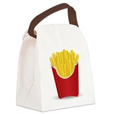 French Fries Canvas Lunch Bag