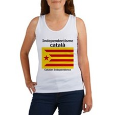 Catalan Independence (F and B) Tank Top