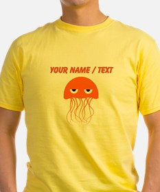Custom Orange Jellyfish T-Shirt