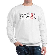 Unique Imagine no religion Sweatshirt